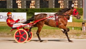 Trixie's Jethro (Jared Finn) added the Darn Safe stake to his list if first season victories. (Four Footed Photo)