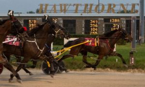 Ima Skydancer (No. 1) looks to stay perfect in tonight's Mike Paradise Series Final. (Four Footed Photo)