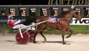 Phyllis Jean (Casey Leonard) goes for a sweep of the Walter Paisley Series tonight (Four Footed Photo)
