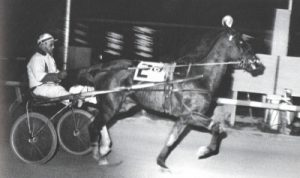 Stan Banks bringing home a winner at Arlington Park when he was the meet's leading driver. (Arlington Park Photo)