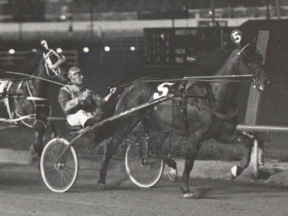 The legendary Rambling Willie (Bob Farrington) became a top-notch pacer at the age of four and 3 of his 11 wins in 1974 came early that year at Hawthorne.